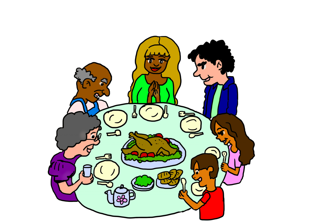 Holiday Dinner by Lilly Cantabile